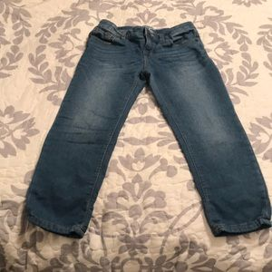 Girls Cropped Jeans